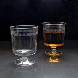 Wine glass. Clear Goblet   10  pieces.