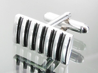 Cufflinks Tiger Striped