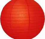 Paper Lantern. Red. 40 cm